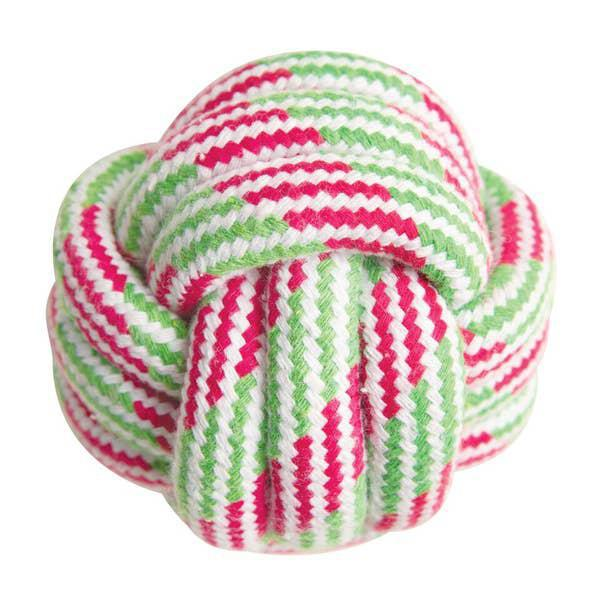 SnugArooz Knot your ball rope toy 3.5""