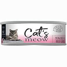 Daves Meow 95% Beef And Beef Liver 5.5oz