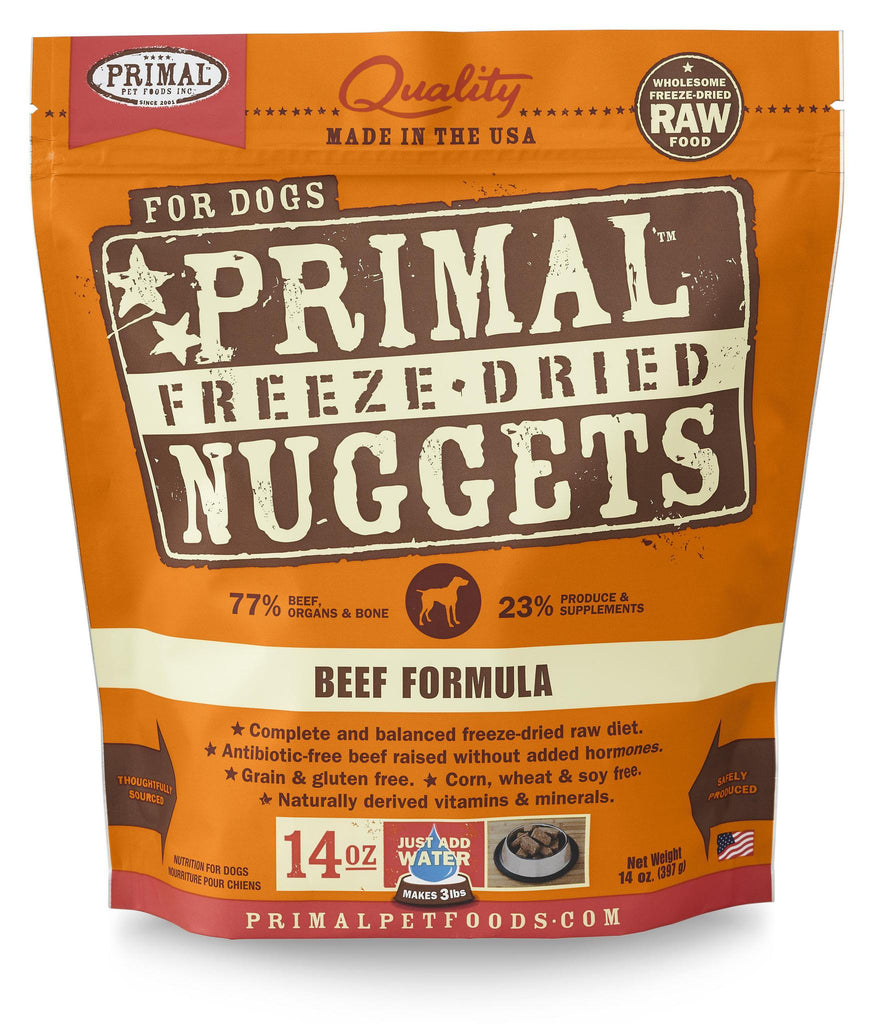 Primal Canine Freeze dried Beef 14oz