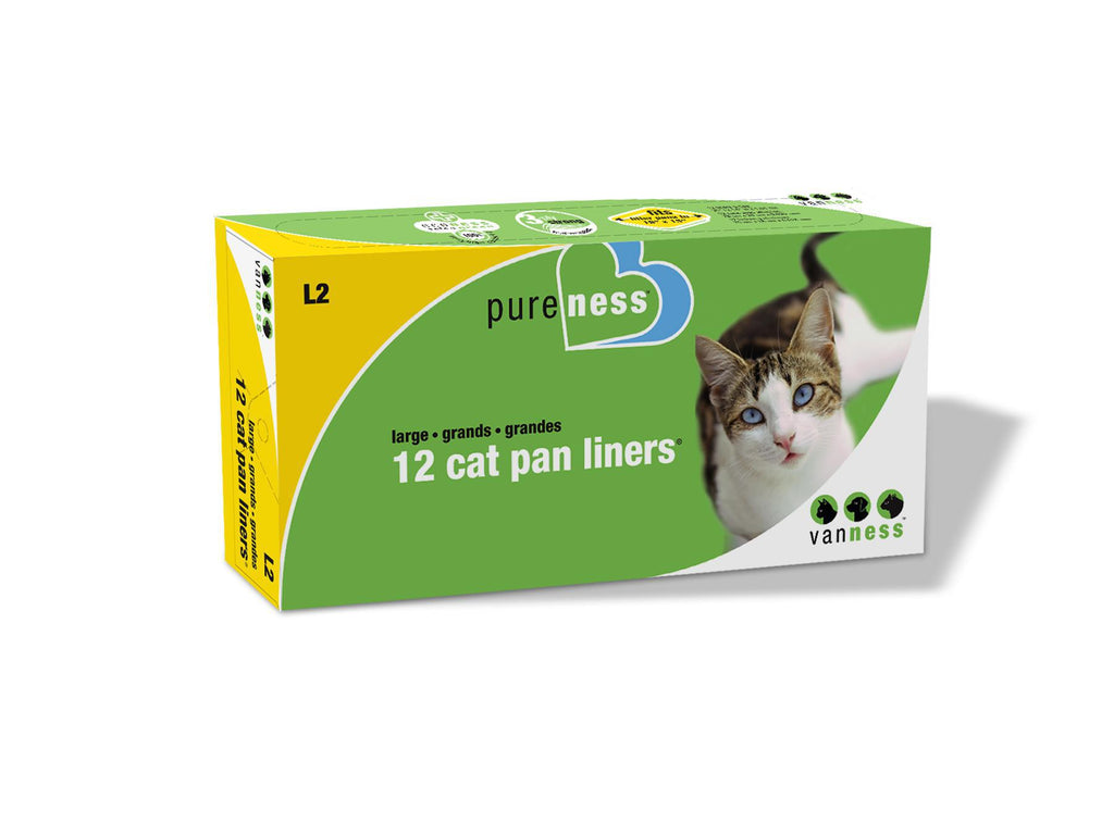 VanNess Large Cat PAN LINER 12count