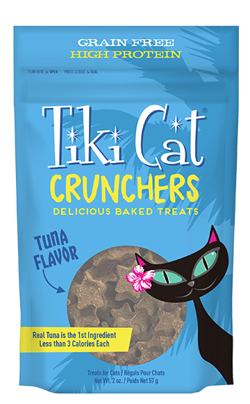 Tiki Cat Crunchers Tuna 2oz