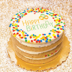 PP Layered Cake Confetti, Pink or Blue
