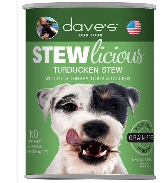 DAVE D STEW GF TURDUCKEN 13OZ