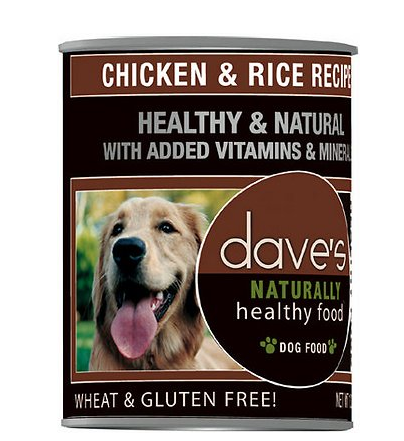 DAVE's Natural Healthy Chicken Rice 22oz