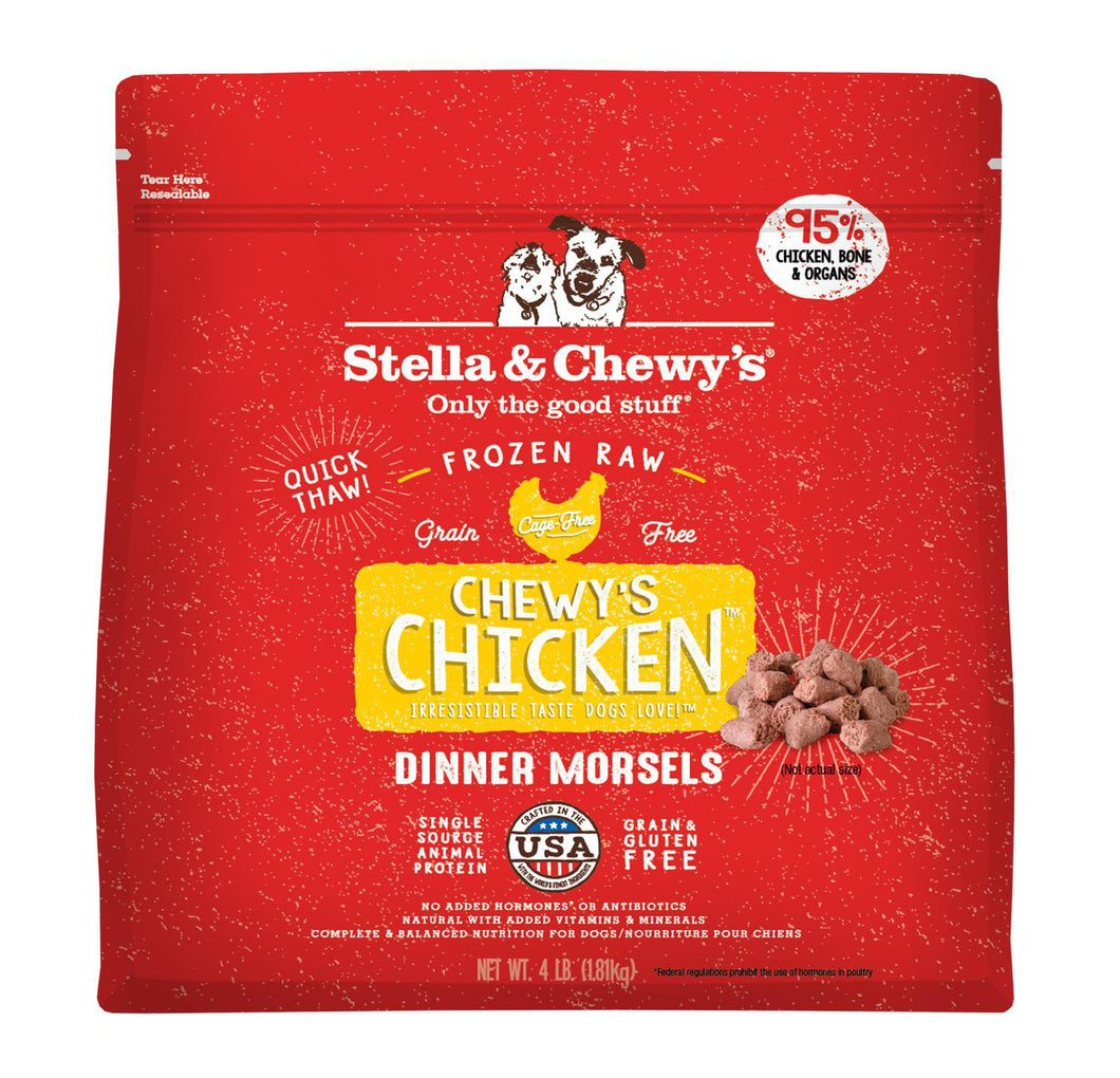 Stella Frozen Morsels chicken 4lb