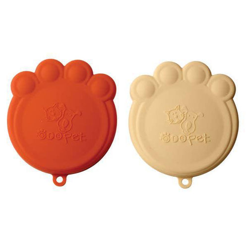 Ore Pet can scovers set of 2 Orange