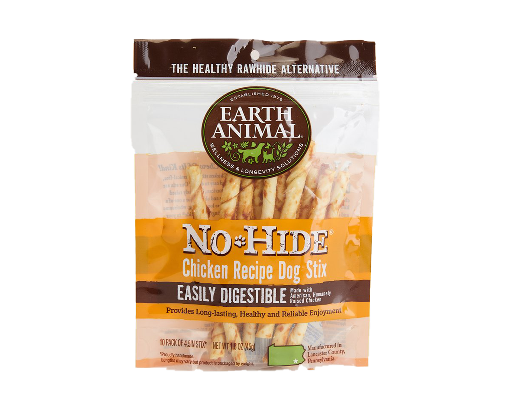 Earth Animal NO HIDE Chicken 10PK