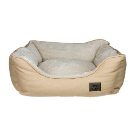 Tall Tails Bolster Bed Khaki