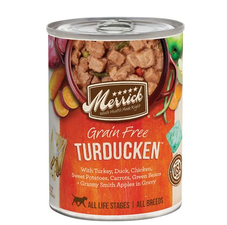 Merrick TURDUCKEN dog 13.2oz