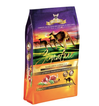 Zignature Dog Kangaroo 4lb