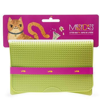 Messy Mutts - silicone litter mat GREEN