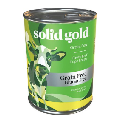 Solid Gold Green Tripe 13oz