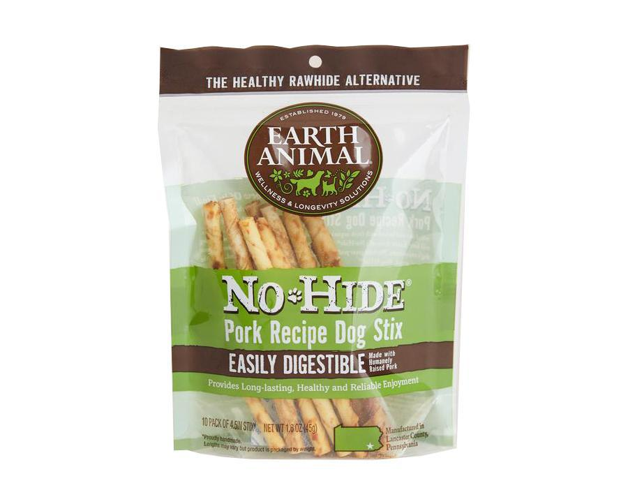 Earth animal No Hide Stix Pork 10 pack