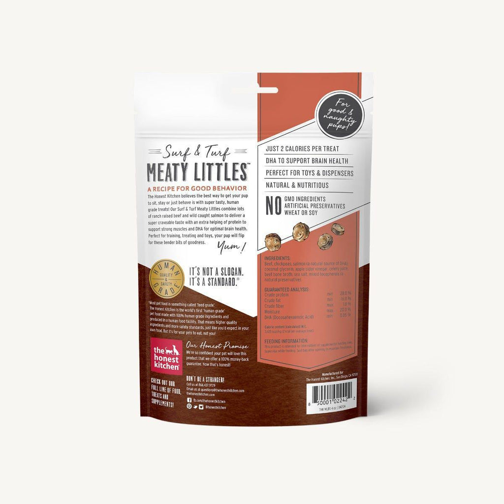 Honest Kitchen Meaty Lils Beef & Salmon 4oz