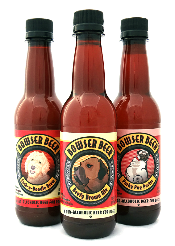 Bowser Beer Cock-a-Doodle Brew Single bottle