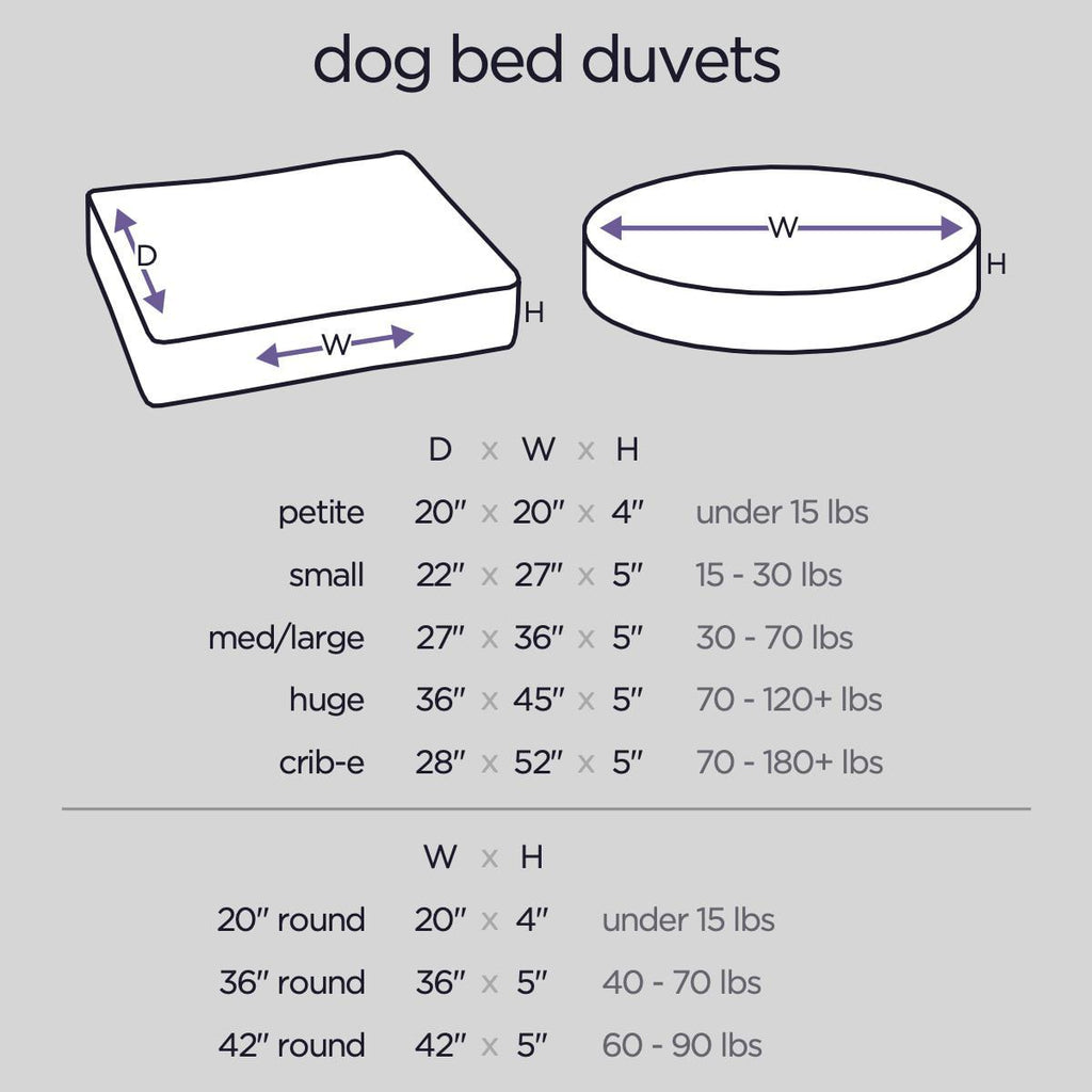 Molly Mutt The Boxer DUVET small