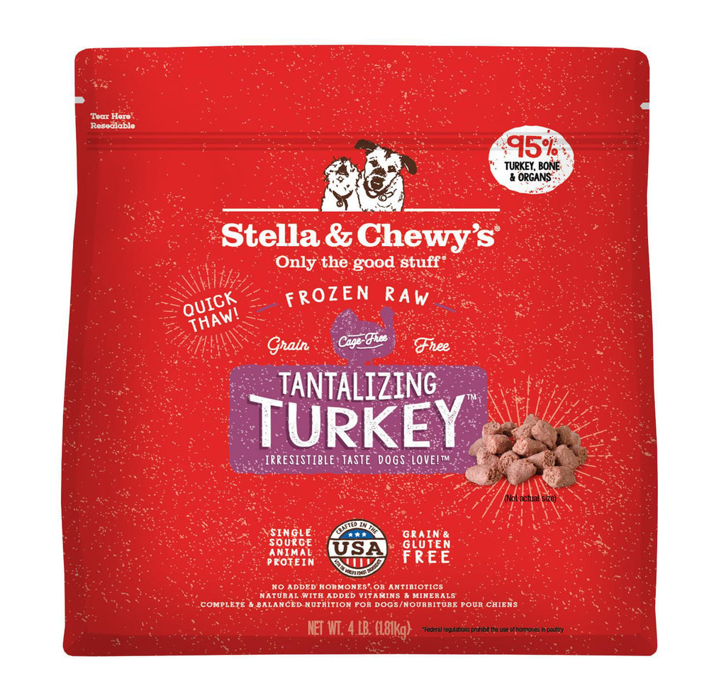 Stella Frozen Morsels Turkey 4lb