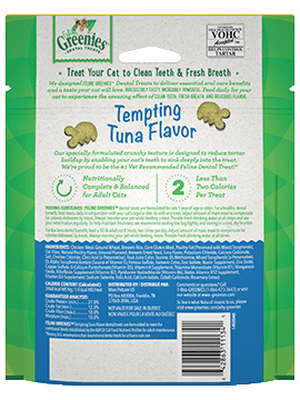 Greenies Feline dental treat Tuna 5.5oz