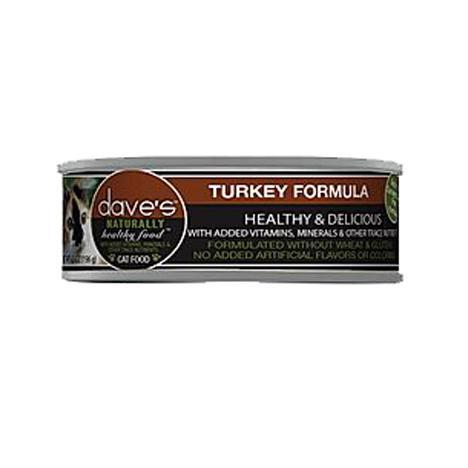 Dave Cat Healthy Turkey Can 5.5oz
