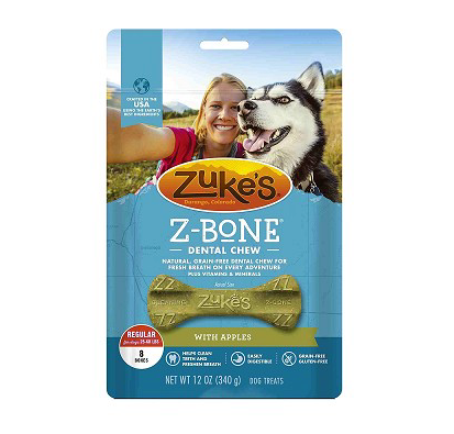 Zuke's  Z-Bone Regular Apple 8ct