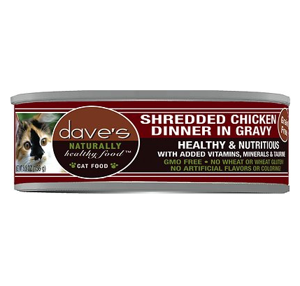 Dave's Cat Shredded Chicken 5.5 oz