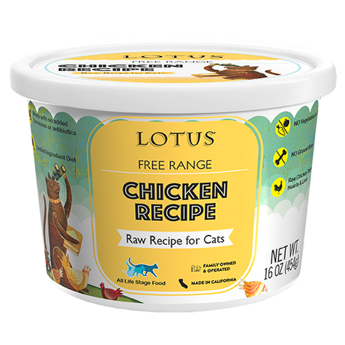 Lotus Raw Chicken For Cats