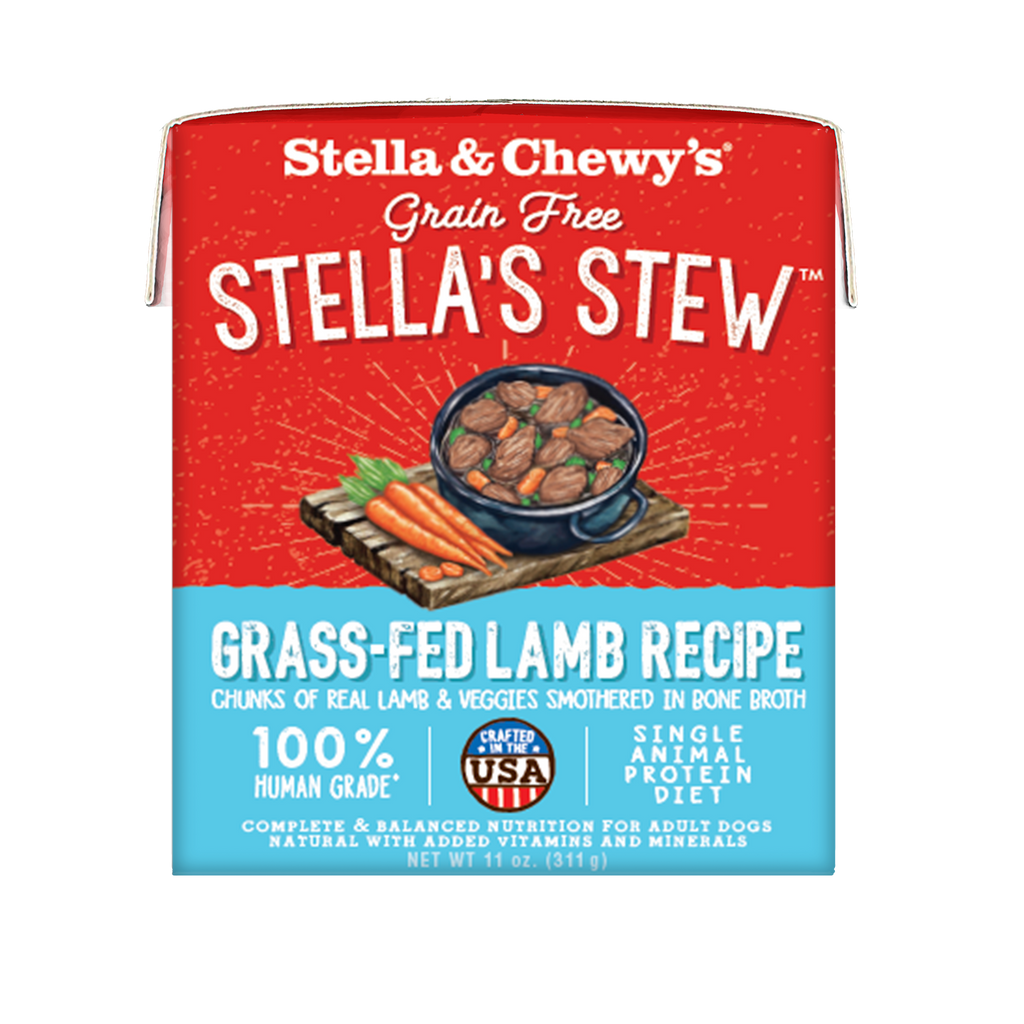 Stella Stew Grass Fed Lamb 11oz