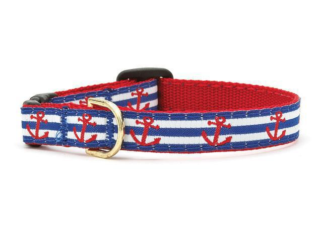 Up Country Cat Collar Anchors Aweight Size 10