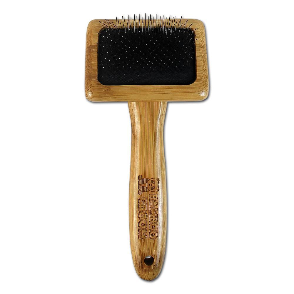 Bamboo Groom Slicker brush small