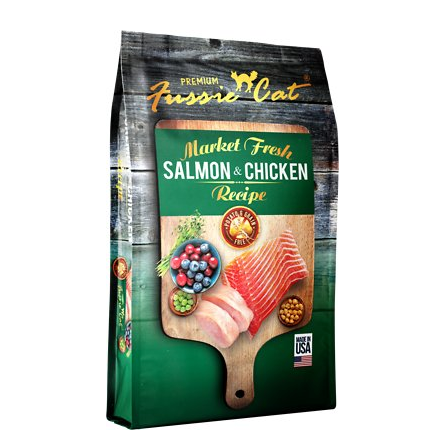 Fussie Cat Chicken Salmon 2lb