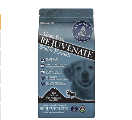 Annamaet Dog Re-Juvenate 5lb Senior formula