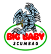 big baby scumbag toon blue eyes white dragon logo for big baby scumbag merch on hats and tees