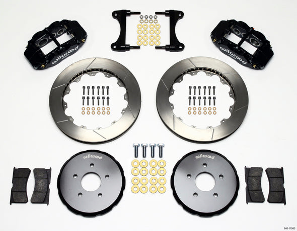 Wilwood Narrow Superlite 6R Front Hat Kit 13.06in Nissan 370Z/Fiti G37