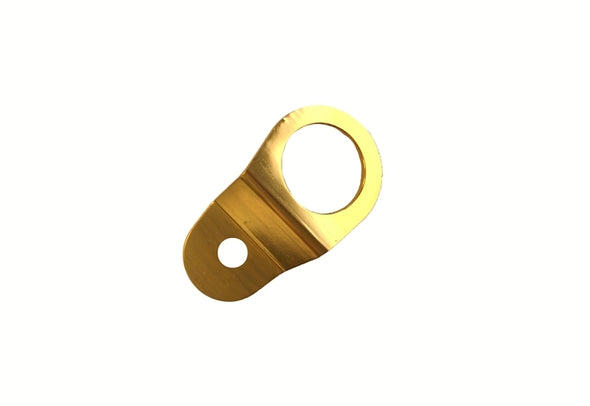 Torque Solution Radiator Mount (Gold) : Mitsubishi Evolution 7/8/9