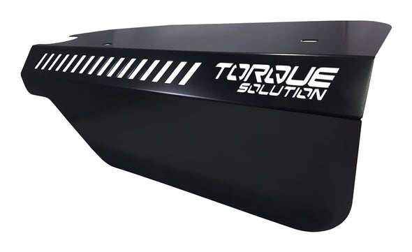 Torque Solution Engine Pulley Cover 2015+ Subaru WRX/2014+ Forester XT - Black