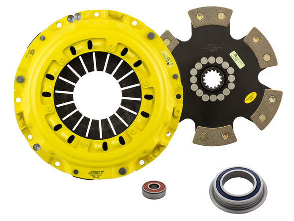 ACT 1993 Toyota Supra XT/Race Rigid 6 Pad Clutch Kit