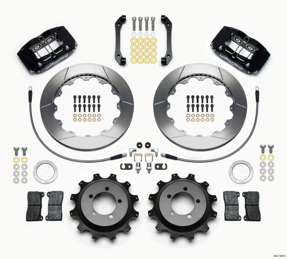 Wilwood Dynapro Radial Rear Kit 12.88in 2006-2007 Subaru WRX w/Lines