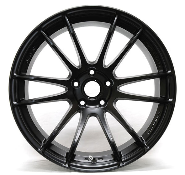 Gram Lights 57Xtreme (Set of Four) 18x9.5 +40 5x100 Semi-Gloss Black - 86/FRS/BRZ Spec