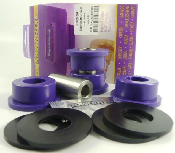 PowerFlex Urethane Suspension Bushings (Street / Purple) - 02-07 Subaru WRX/STI
