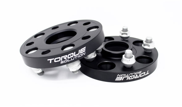 Torque Solution Forged Aluminum Wheel Spacer Subaru 56mm Hub 5x114.3 - 20mm