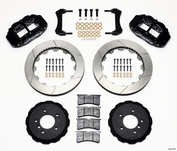Wilwood Narrow Superlite 6R Front Hat Kit 13.06in E36 BMW M3