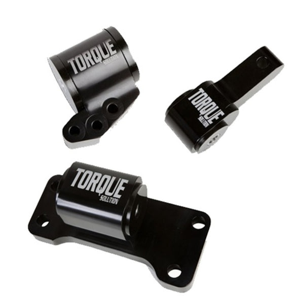 Torque Solution Mitsubishi EVO VII-IX Billet 3 piece mount Kit: Mitsubishi Evolution VII-IX 01-06