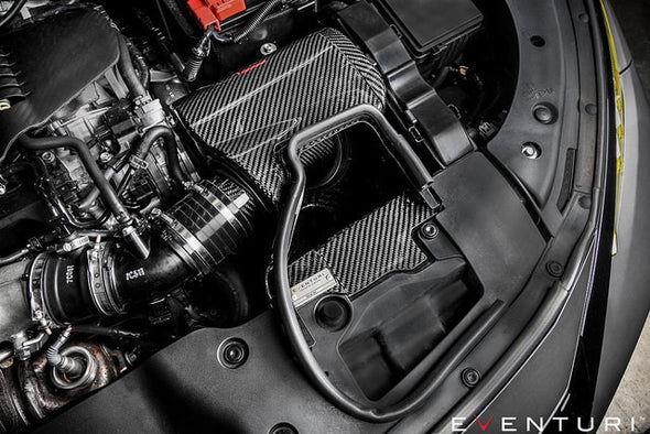 Eventuri Black Carbon Intake - Honda Civic Type R FK8 17+