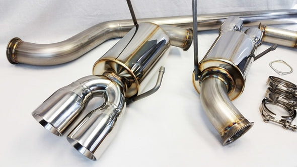 "ETS 3"" Stainless Steel Turbo Back Exhaust System - 2015 WRX"