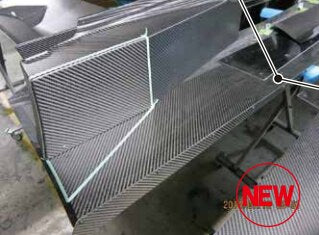 Voltex WTAC Side Under Tray (Dry Carbon) - Mitsubishi Evo VIII / IX