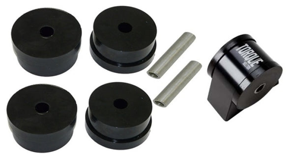 Torque Solution Side Mount Inserts & Billet Front Engine Mount Combo: Mitsubishi Evolution X 08-14