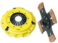 ACT Clutch Kit (4 Pad Solid/Heavy Duty Pressure Plate) - Honda Civic Si 02-07, Acura RSX 02-06