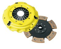 ACT Clutch Kit (6 Pad Solid/Heavy Duty Pressure Plate) - Mitsubishi Lancer EVO 03-06