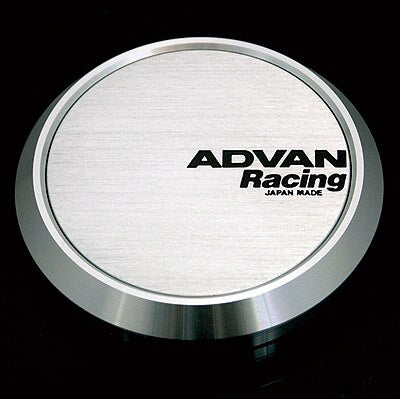 Advan Center Cap - Flat Cap (Silver Alumnite)