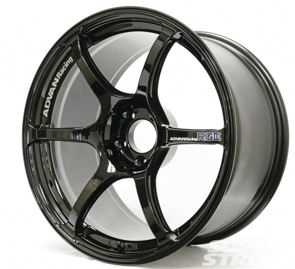 Advan RGIII 18x9.5 +45 5x114.3 Gloss Black